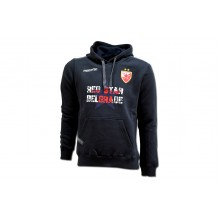 Macron Dark Blue Hoody FC Red Star 2017/18