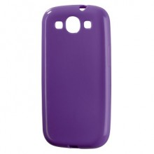 Mask for Mobile Phone Hama for Samsung S3 Purple