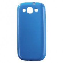 Mask for Mobile Phone Hama for Samsung S3 Blue