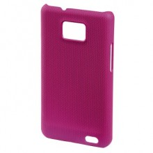 Mask for Mobile Phone Hama for Samsung S2 Dark Pink