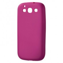 Mask for Mobile Phone Hama for Samsung S3 Silicone Pink
