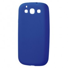 Mask for Mobile Phone Hama for Samsung S3 Silicone Navy