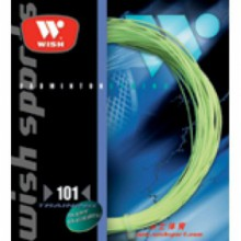 Wire badminton racket Wish